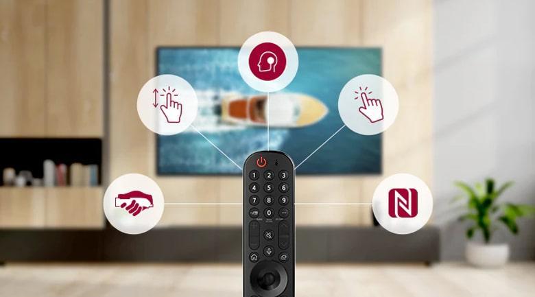 Tivi OLED LG 55G1PTA tìm kiếm giọng nói hỗ trợ tiếng Việt