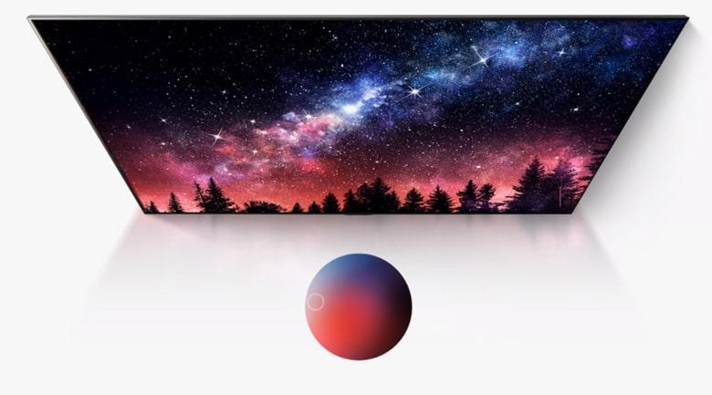 trải nghiệm hình ảnh tuyệt đẹp với màn hình OLED