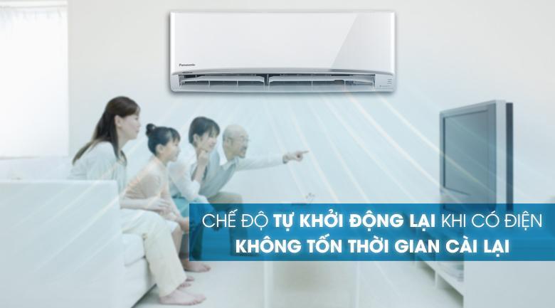 Điều hoà Toshiba RAS-H13C3KCVG-V khi cúp điện bất ngờ sẽ tự khởi động lại