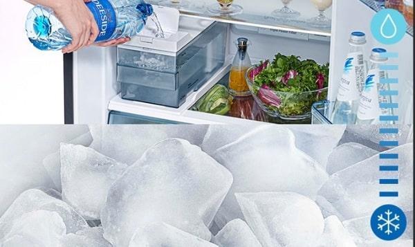 Tủ lạnh Hitachi R-FG690PGV7X GBK làm đá tự động tiện lợi