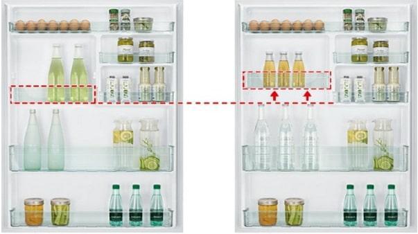Tủ lạnh Hitachi R-FG690PGV7X GBK ngăn cửa thay đổi linh hoạt