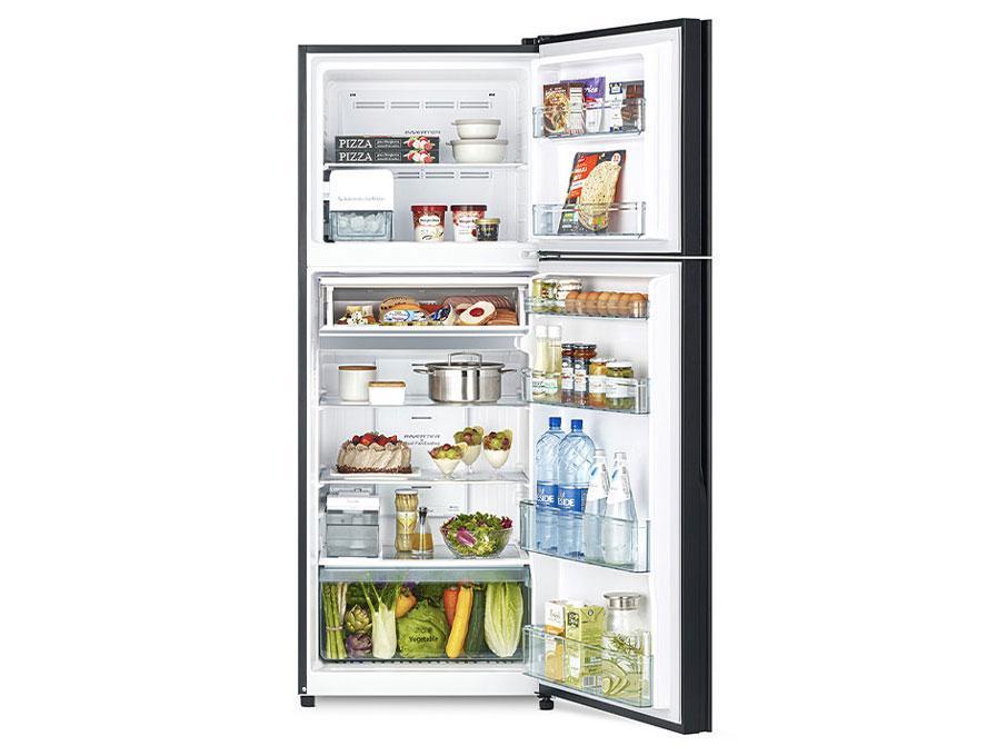 Tủ lạnh Hitachi FVY510PGV0 GMG ngăn củ quả rộng rãi