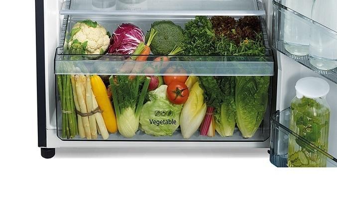 Tủ lạnh Hitachi Inverter 406 lít R-FVX510PGV9(GBK) - Ngăn rau quả rộng rãi