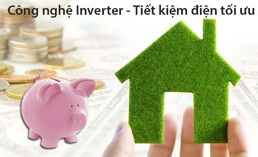công nghệ inverter-tiết kiệm điện tối ưu