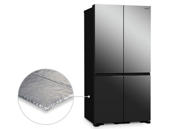 Tủ lạnh Hitachi R-WB640VGV0X MIR công nghệ ngăn chân không cách nhiệt