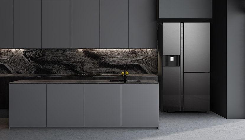 Tủ lạnh Hitachi R-MY800GVGV0 MIR Multidoor 3 cánh 569 lít thiết kế hiện đại