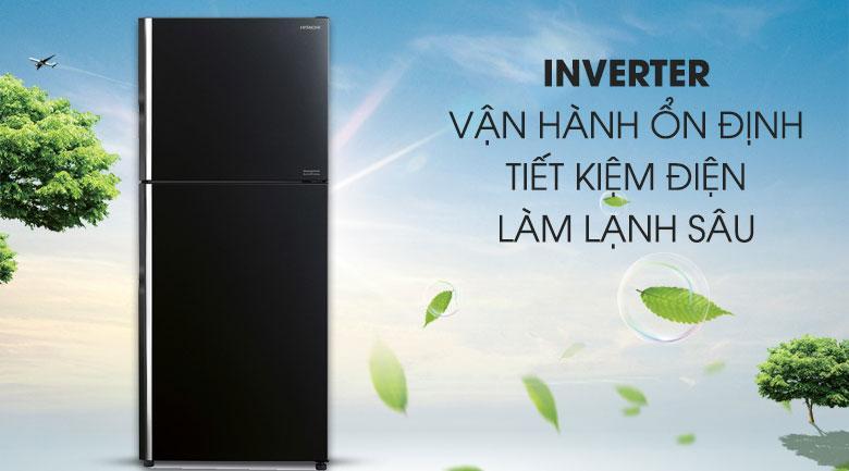 công nghệ inverter vận hành ổn định tiết kiệm điện làm lạnh sâu