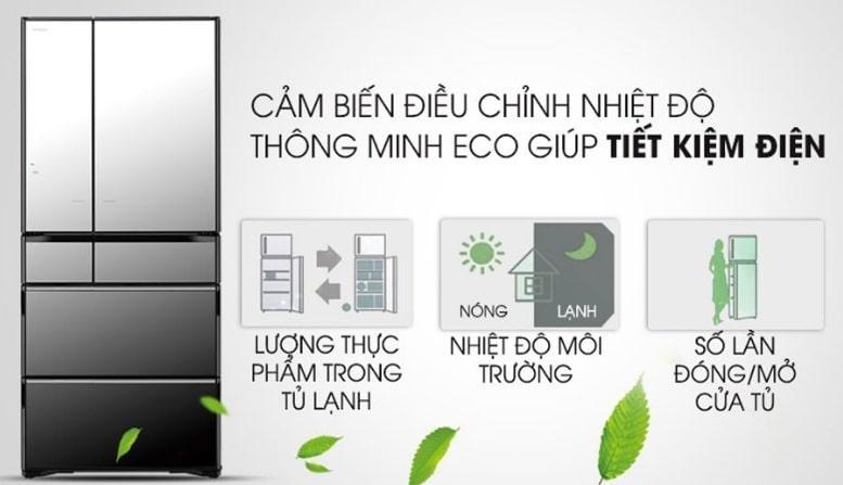 cảm biến điều chỉnh nhiệt độ thông minh Eco giúp tiết kiệm điện