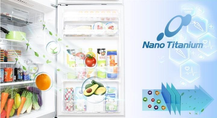 Tủ lạnh Hitachi R-G620GV XK màng lọc khử mùi