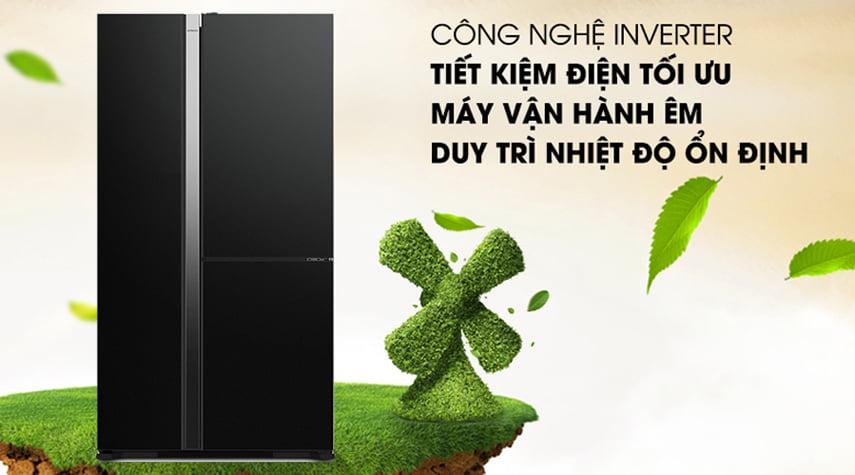 công nghệ inverter tiết kiệm điện tối ưu, máy vận hành bền bỉ