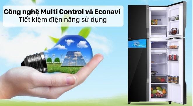 công nghệ multi control và econavi tiết kiệm điện năng