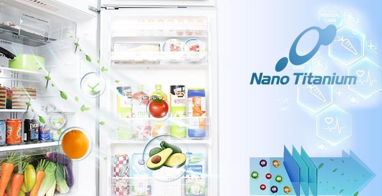 Tủ lạnh Hitachi R-G520GV XK kháng khuẩn tối ưu
