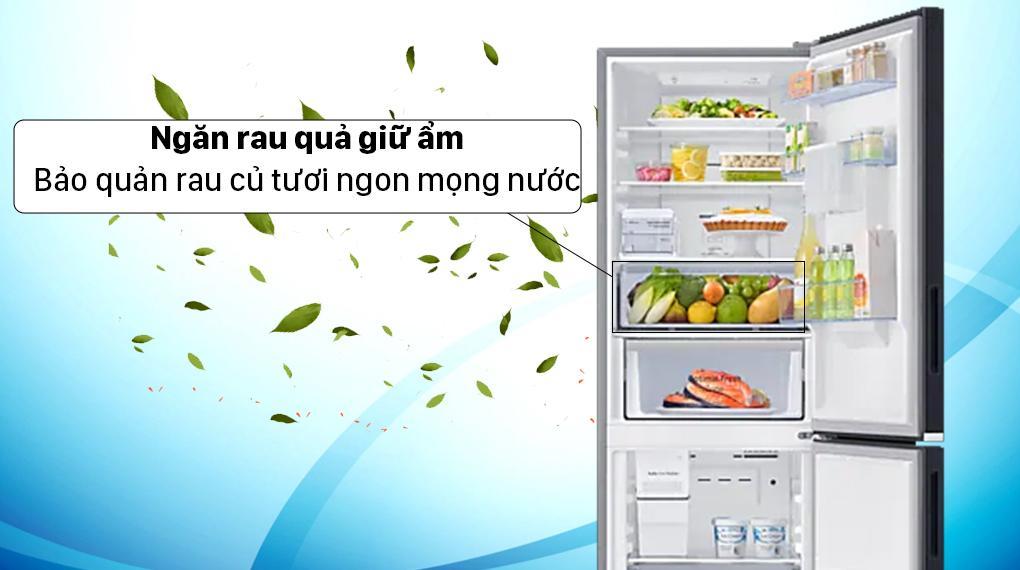 Tủ lạnh Samsung RB30N4190BU ngăn rau quả giữ ẩm