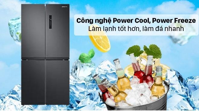 công nghệ Power Cool, Power Freeze làm lạnh tốt hơn