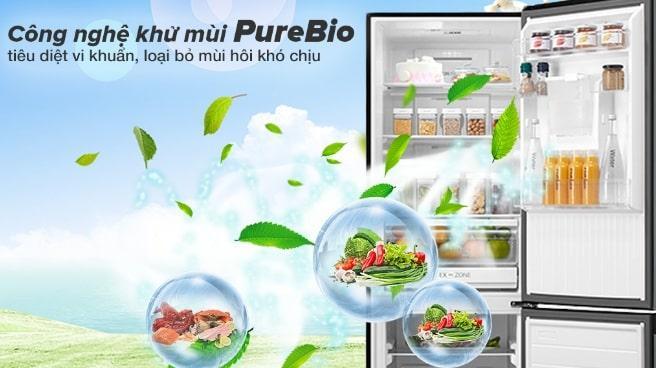 công nghệ khử mùi PureBio