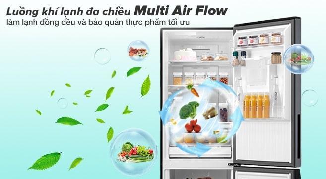 luồng khì lạnh đa chiều Multi Aira Flow