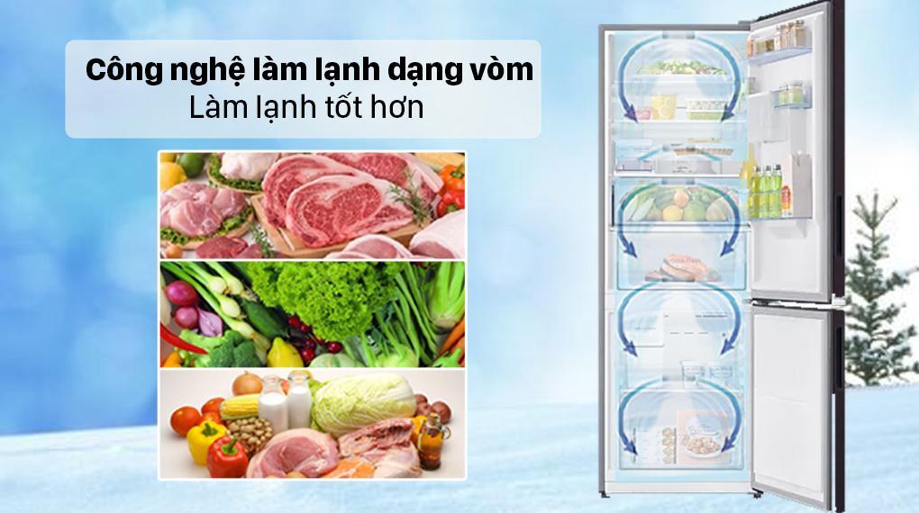 Tủ lạnh Samsung Inverter 307 lít RB30N4190BY/SV - Làm lạnh đồng đều