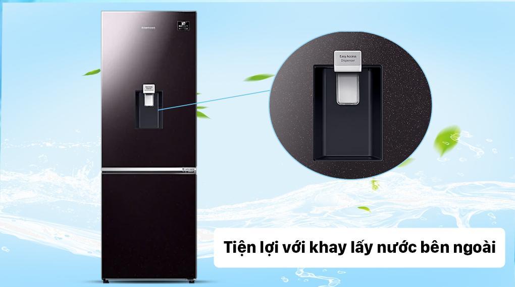 Tủ lạnh Samsung Inverter 307 lít RB30N4190BY/SV - Lấy nước bên ngoài tiện lợi