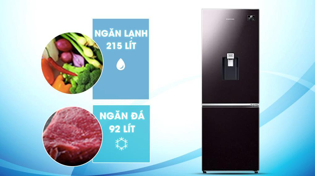 Tủ lạnh Samsung Inverter 307 lít RB30N4190BY/SV - Phù hợp cho gia đình từ 3 - 4 người