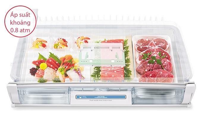 Máy Giặt ELECTROLUX 8 KG aTủ lạnh Hitachi Inverter 536 lít R-G520GV (X)EWF8025BQWA