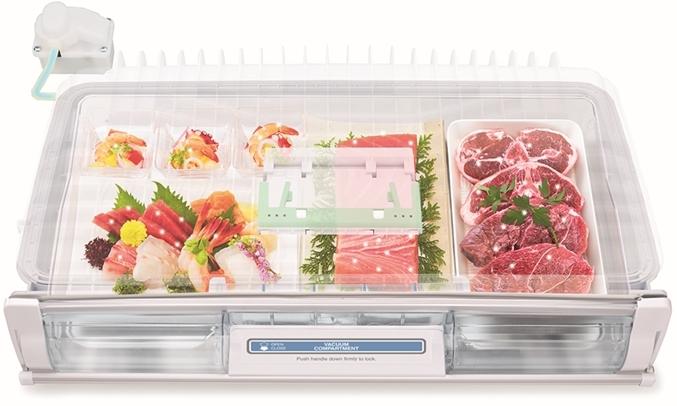 Tủ lạnh Hitachi 589 lít R-G570GV (XT)ngăn chân không
