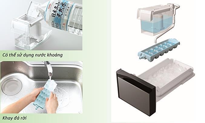 Tủ lạnh Hitachi inverter 589 lít G570GV(XK)