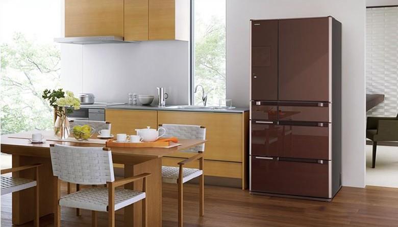 Tủ lạnh Hitachi R-G620GV XT Multidoor 6 cánh thiết kế sang trọng