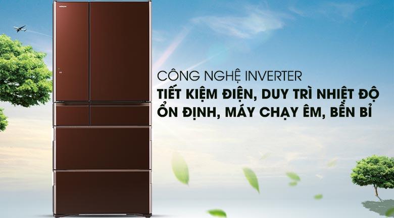 Tủ lạnh Hitachi R-G620GV XT Multidoor 6 cánh vận hành bền bỉ