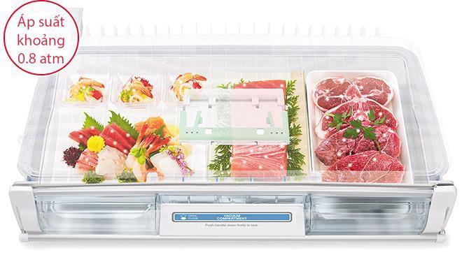 Tủ lạnh Hitachi 657 Lít R-G620GV (XT)-4
