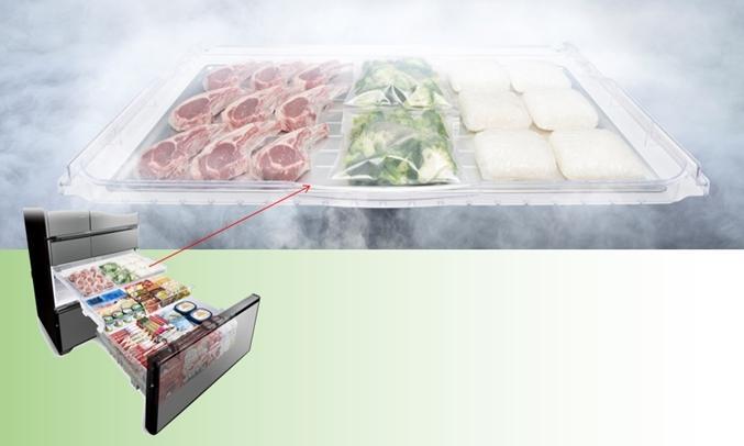 Tủ lạnh 6 cánh Hitachi G620GV(XK) - 657 Lít Inverter chính hang