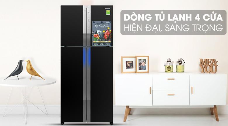 Tủ lạnh 4 cửa hiện đại, sang trọng