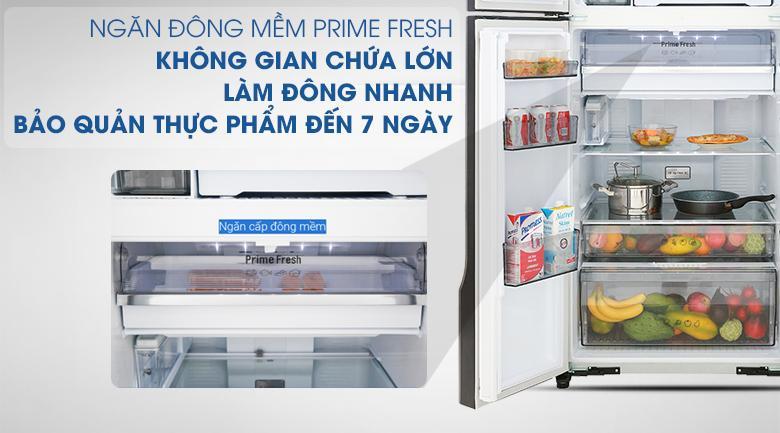 Công nghệ kháng khuẩn Ag Clean với tinh thể bạc Ag - Tủ lạnh Panasonic Inverter 550 lít NR-DZ600GXVN