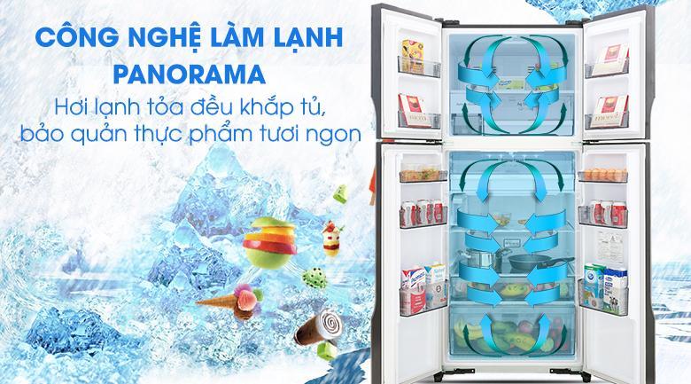 Công nghệ Panorama - Tủ lạnh Panasonic Inverter 550 lít NR-DZ600GXVN