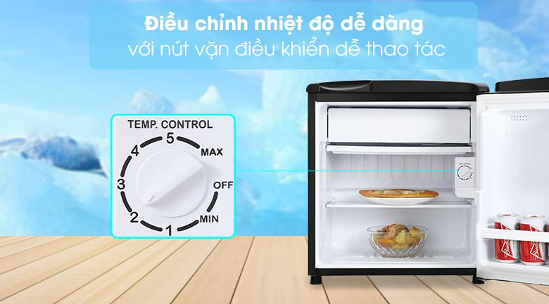 Điều chỉnh nhiệt độ dễ dàng với nút vặn điều khiển dễ thao tác