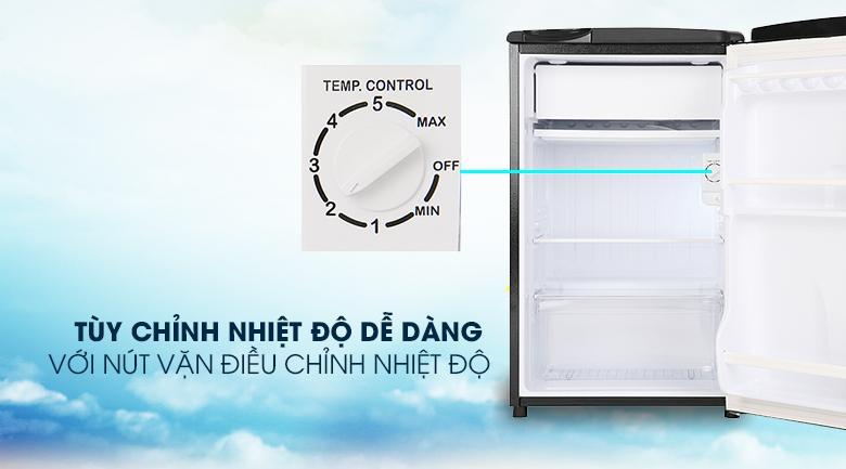 Tủ lạnh Aqua AQR-D99FA (BS) Tuỳ chỉnh nhiệt độ dễ dàng