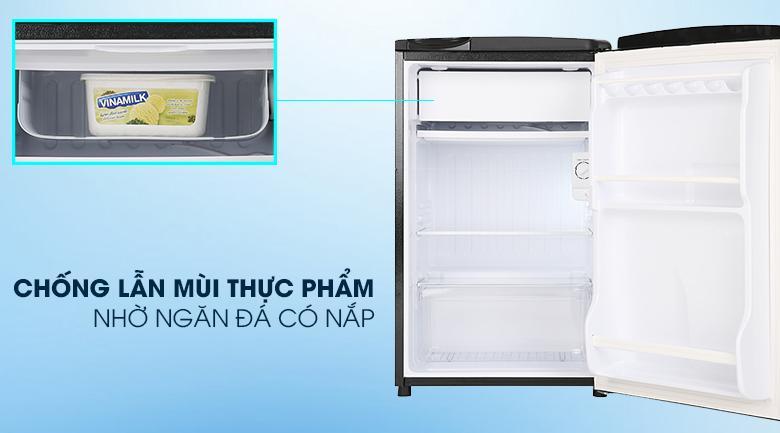 Tủ lạnh Aqua AQR-D99FA (BS) Ngăn đá có nắp đậy