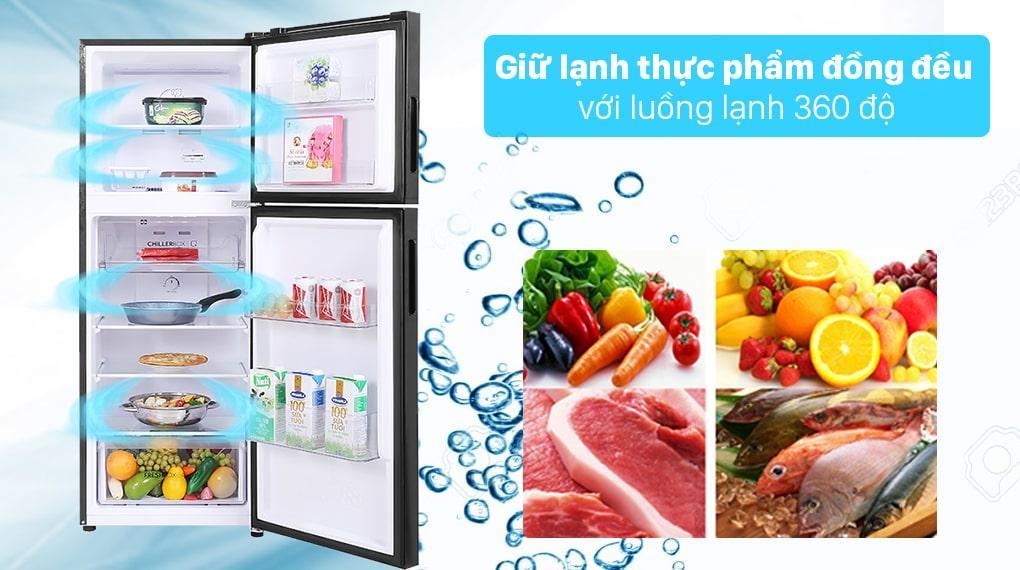 luồng lạnh đa chiều bảo quản thực phẩm