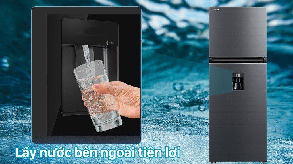 lấy nước bên ngoài tiện lợi