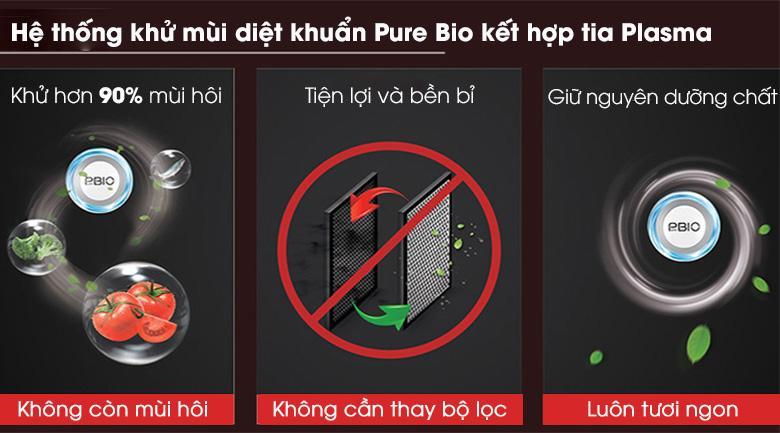 Hệ thống khử mùi diệt khuẩn Pure Bio và tia Plasma