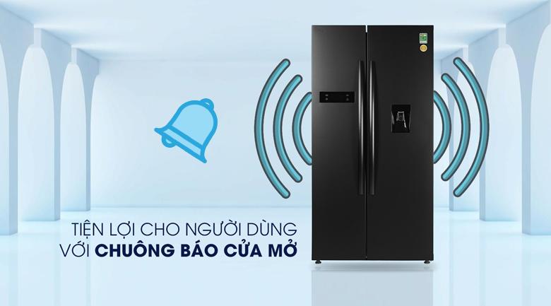 Tủ lạnh Toshiba GR-RS682WE-PMV(06)-MG Chuông báo cửa