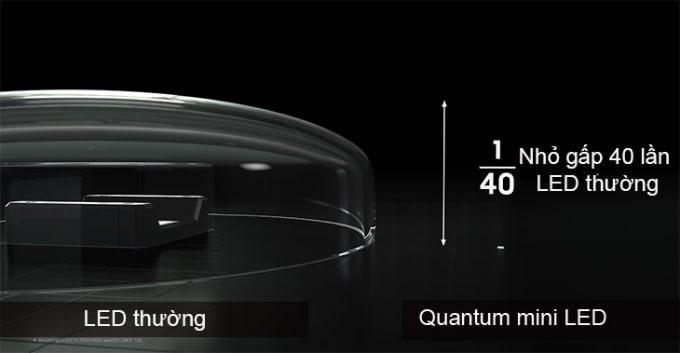 công nghệ quantum mini LED
