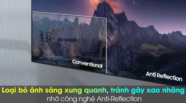 Tivi Samsung 65QN800A loại bỏ ánh sáng xung quanh, tránh gây xao nhãng