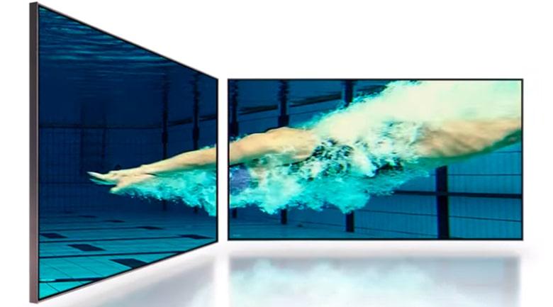 Tivi Samsung 65QN800A hiển thị hình ảnh sắc nét