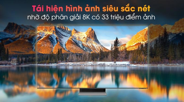 Tivi Samsung 65QN900A tái hiện hình ảnh siêu sắc nét