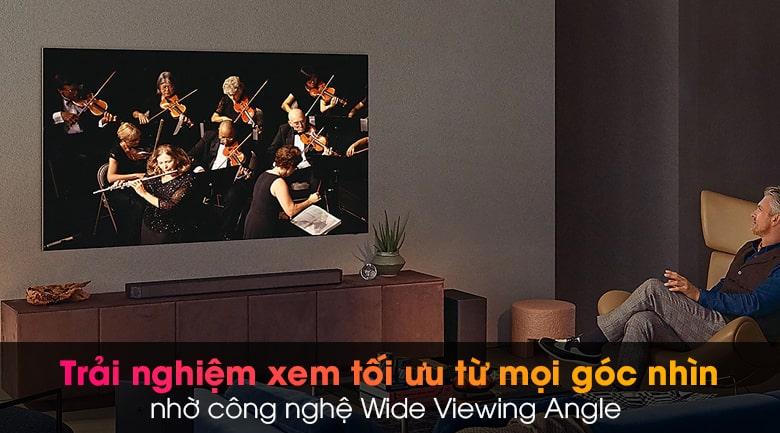 trải nghiệm xem tối ưu từ mọi góc nhìn nhờ công nghệ Wide Viewing Angle