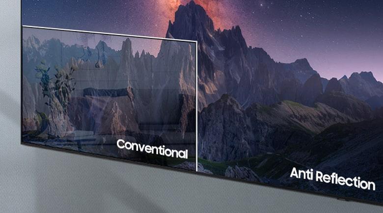 Tivi Samsung 65QN700A thiết kế chống lóa tối ưu