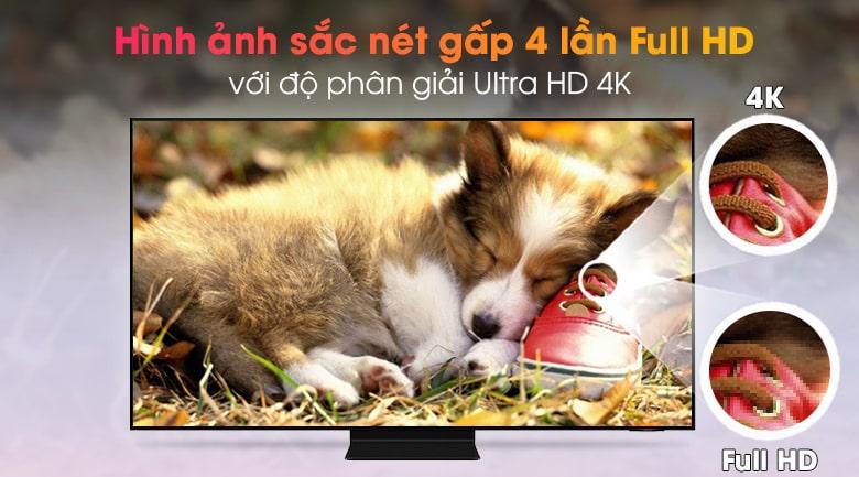 hình ảnh sắc nét gấp 4 lần Full HD