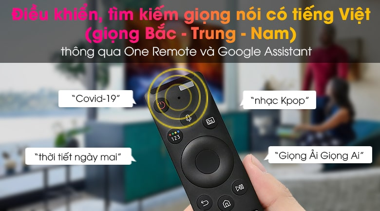 điều khiển, tìm kiếm giọng nói có Tiếng Việt