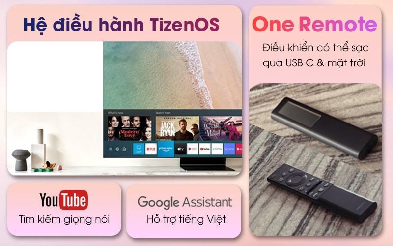 Tivi Samsung 75QN800A hệ điều hành TizenOS