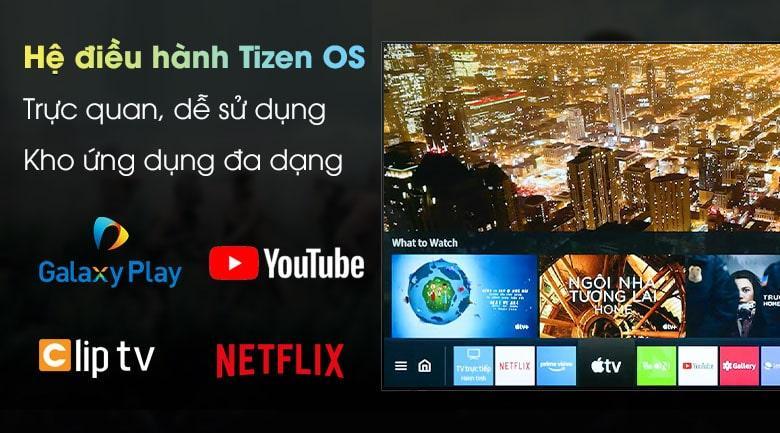 hệ điều hành Tizen OS trực quan dễ sử dụng